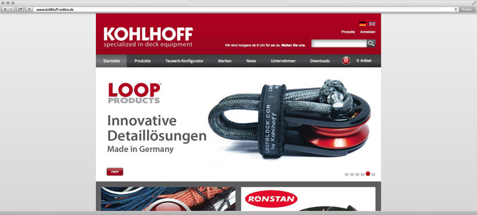 kohlhoff 4 webdesign website