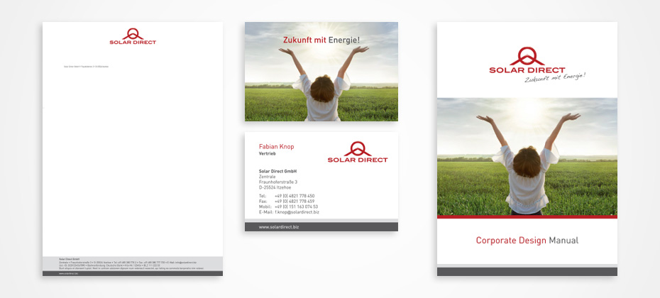 solar direct corporate design