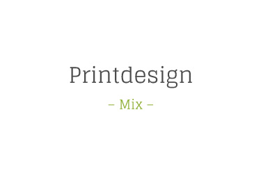 beugdesign - Printdesign – Mix –